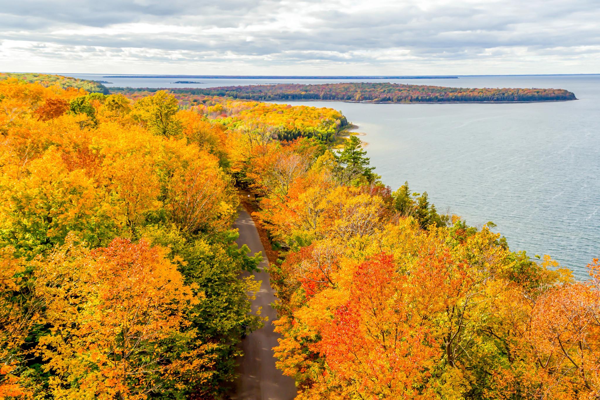 Door County, Wisconsin, the beauty of autumn