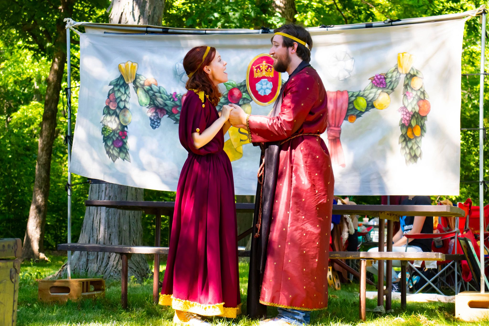 An image of a play at a Wisconsin state park.