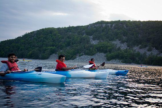 Kayaking at Devil's Lake State Park