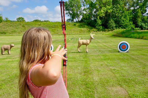 Archery at MacKenzie Center