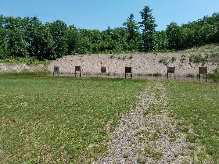 An image of Caywood Shooting Range in Vilas County, Wisconsin.