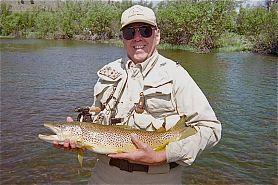 Man holding large fish