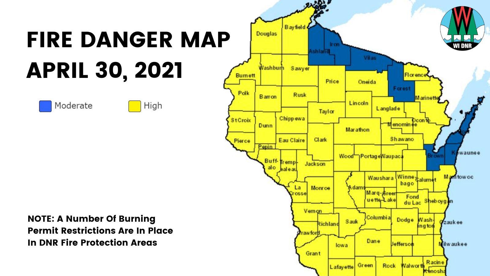 Wisconsin DNR news release