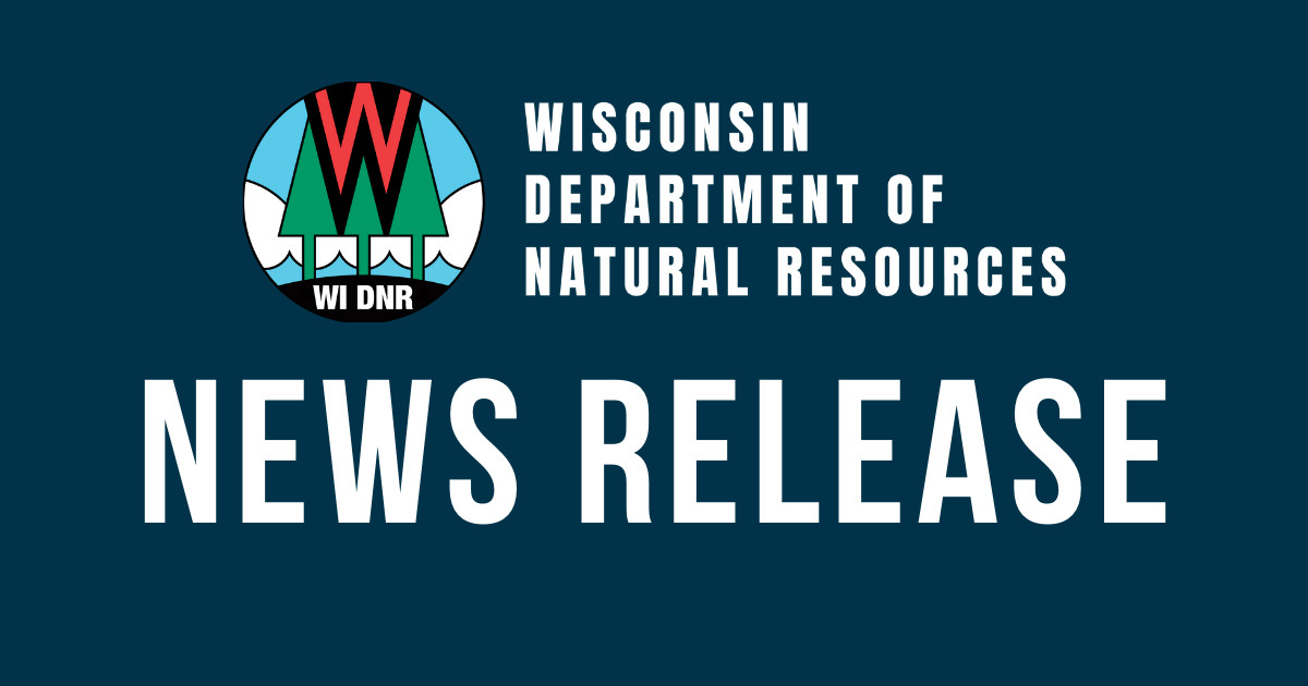 Wisconsin DNR news release